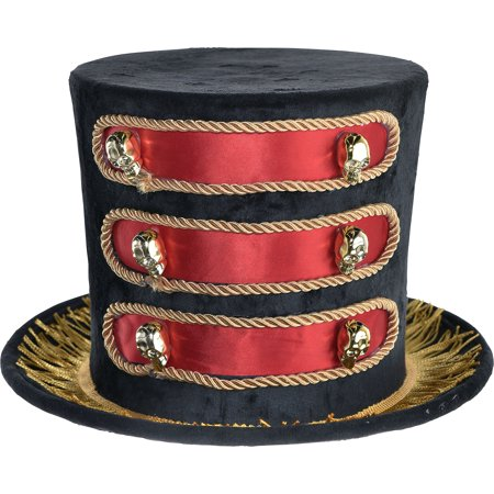 Pittsburgh City Halloween (Party City Showman Top Hat Halloween Costume Accessory for Adults, One)