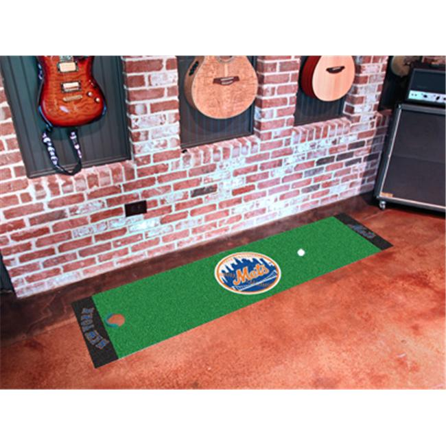 FANMATS 9045 New York Mets Putting Green Runner 24 inch x 96 inch