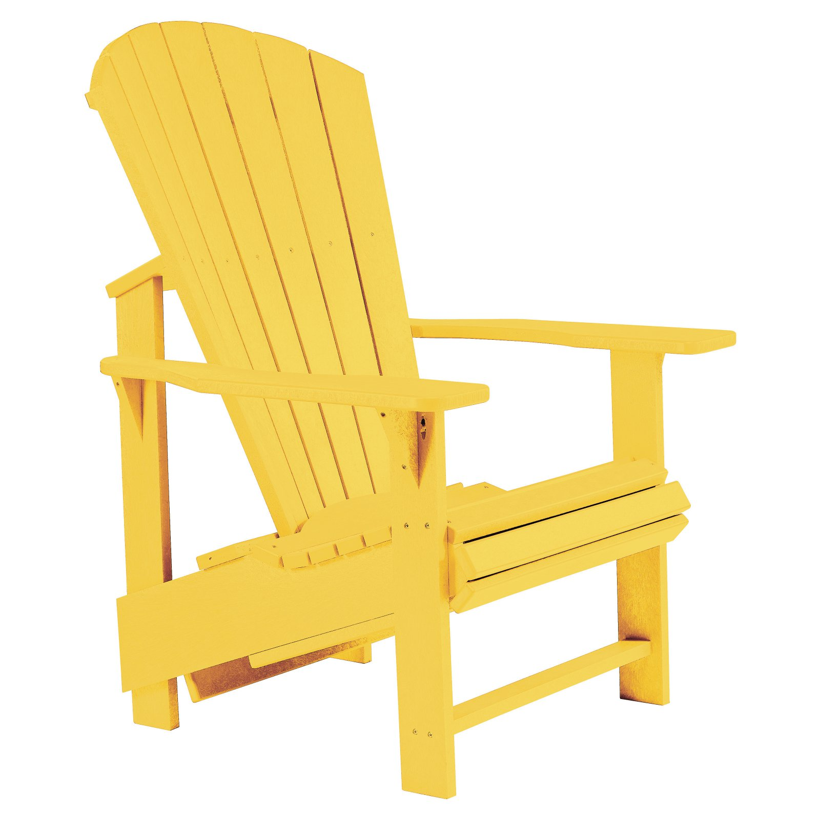 CR Plastic Generations Upright Adirondack Chair by Overstock