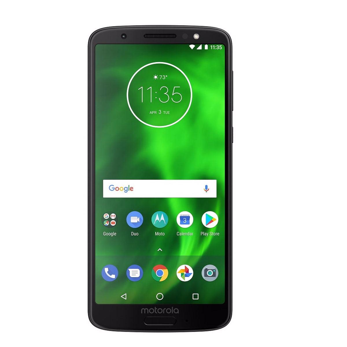 "New Motorola Moto G6 32GB XT1925-2 Dual SIM Factory Unlocked 4G LTE 5.7"" IPS LCD Smartphone Dual 12MP + 5MP Smartphone - Deep Indigo - International Version"