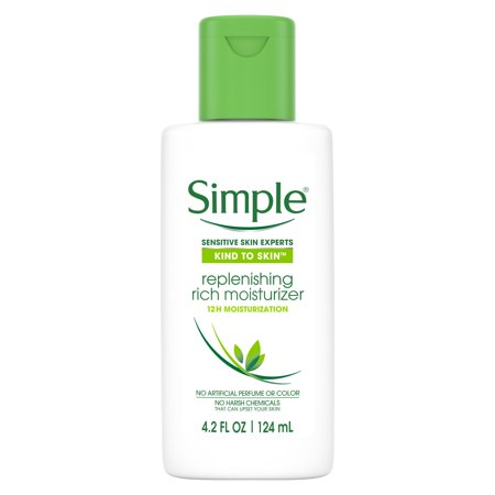 Simple Replenishing Rich Facial Moisturizer, 4.2 oz Logona Facial Care