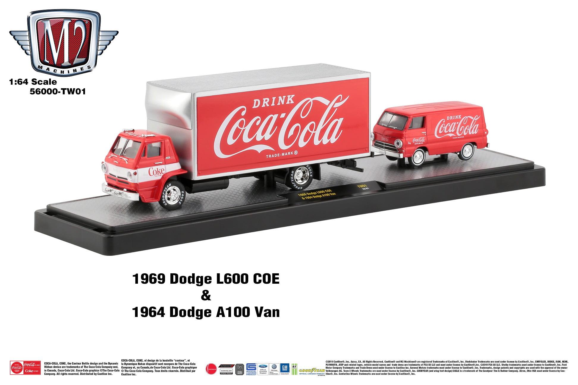 M2 Machines Coca-cola 1:64 Hauler (Styles May Vary)