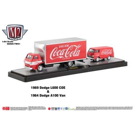 M2 Machines Coca-cola 1:64 Hauler (Styles May Vary)