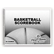 First Team FT14 Paper Basketball Scorebook