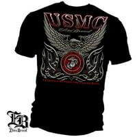 Cotton Elite Breed USMC Marine Corps T-Shirt