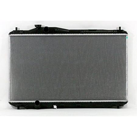 Radiator - Pacific Best Inc For/Fit 13224 12-15 Honda Civic Sedan Manual Transmission 1.8L USA Plastic Tank Aluminum Core Without Transmission Oil