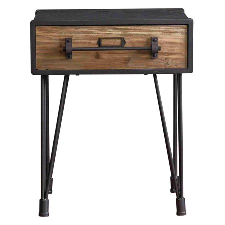 Screen Gems Wooden Side Table Af