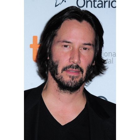 Keanu Reeves At Arrivals For Man Of Tai Chi Premiere At The Toronto International Film Festival Rolled Canvas Art     8 X 10