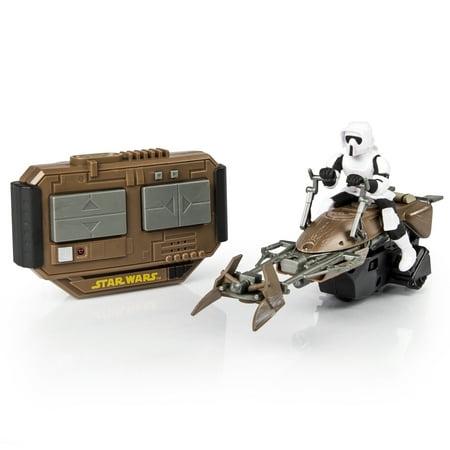Air Hogs Star Wars Remote Control Speeder Bike (Air Hogs Star Wars Remote Control Millennium Falcon)