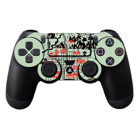 MightySkins Skin For Sony PS4 Controller - Anime Fan | Protective, Durable,  and Unique Vinyl Decal wrap cover | Easy To Apply, Remove, and Change