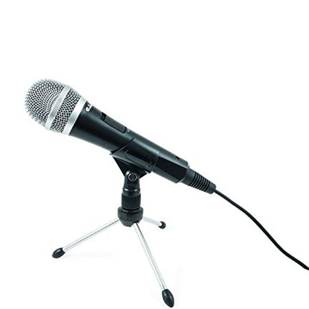 Dynamic Microphone w/ Built-In Pop Filter for Vocals & Instruments by (Best Pop Filter For Vocals)