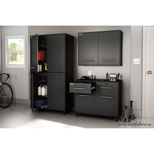 south shore karbon collection wall storage cabinet pure walmartcom