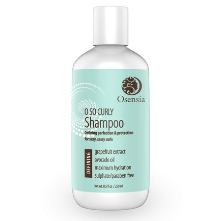 Curl Shampoo for Sexy Curls  for Frizzy Hair  Paraben and Sulfate Free Shampoo with Nourishing Avocado Oil  Best Curly Hair Shampoo for Kids, Men, Women by Osensia