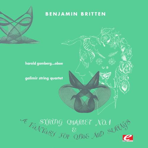 Britten   Galimir String Quartet   Gomberg, Harold Fantasy for Oboe & String Trio F Min... by
