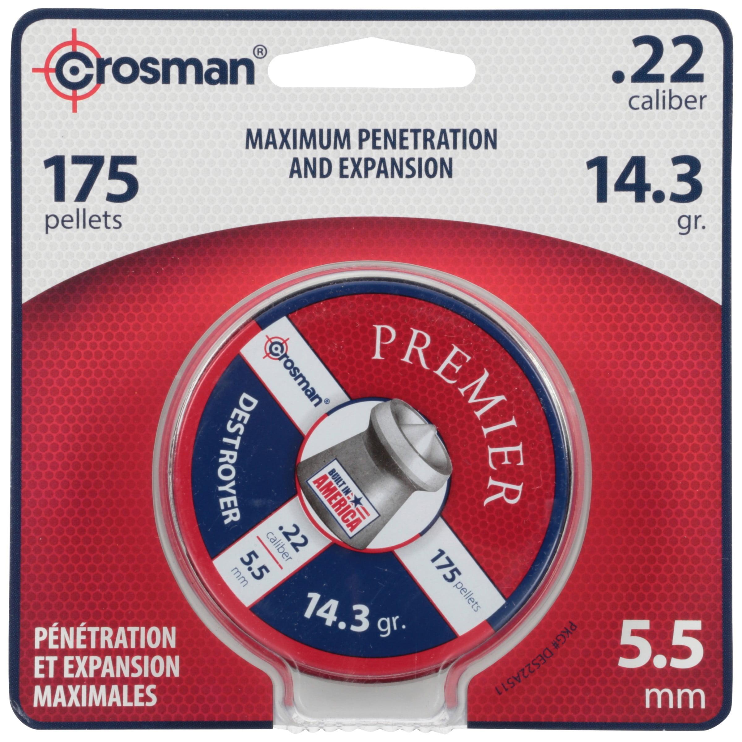 Crosman Destroyer Pellets 175 ct DES22 by Crosman