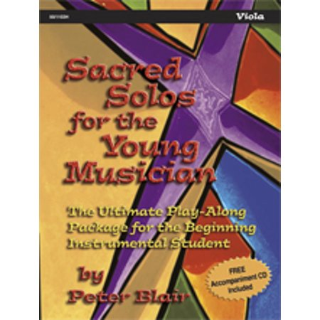 Sacred Solos for the Young Musician: Viola - Peter Blair - SongBook - 501103H (Us-104)