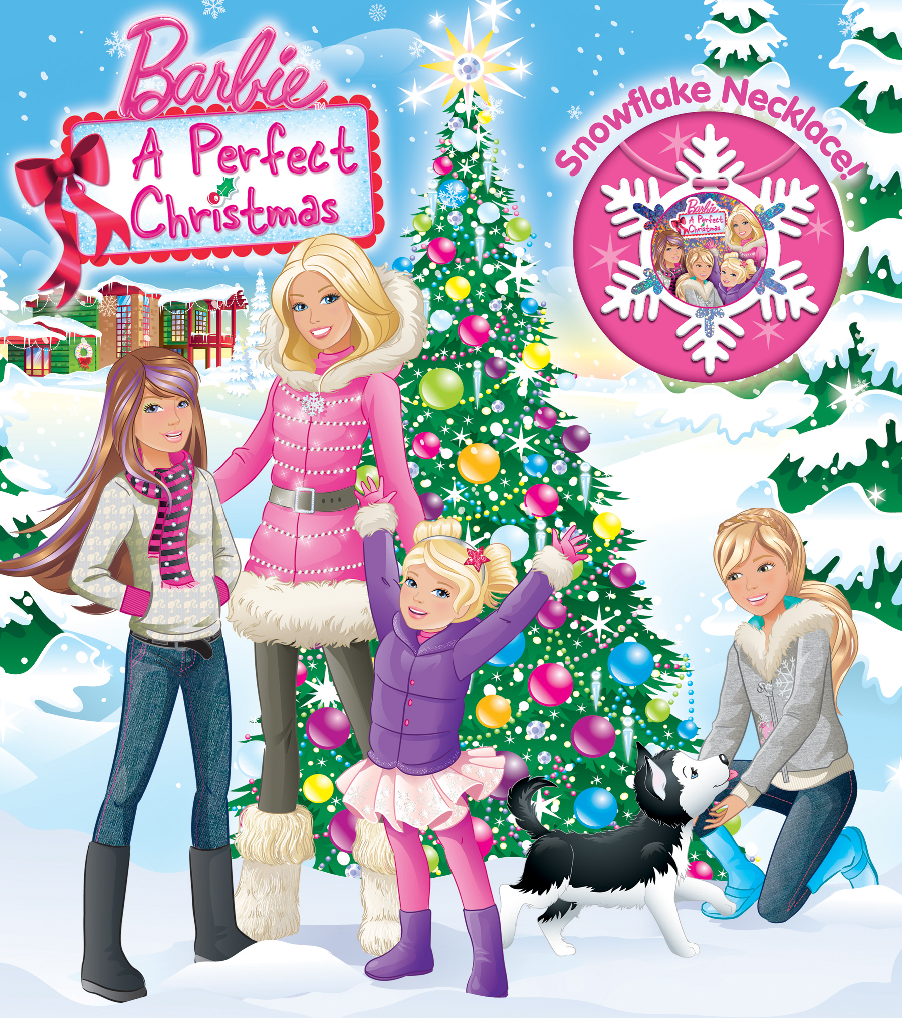 Barbie: A Perfect Christmas (Part of BOOK AND JEWELRY) Adapted Adapted by: Justine Fontes