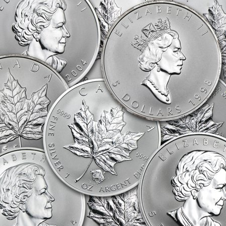 Canada 1 oz Silver Maple Leaf Privy Mark Coins (Best Price Silver Maple Leaf Coins)