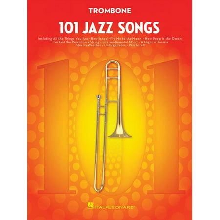 101 Jazz Songs for Trombone (Jazz Pop Trombone)