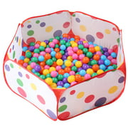 Portable Baby Ocean Ball Pool Pit Kids Children Game Tent Game House Toy Gift Outdoor & Indoor ( Without Balls)