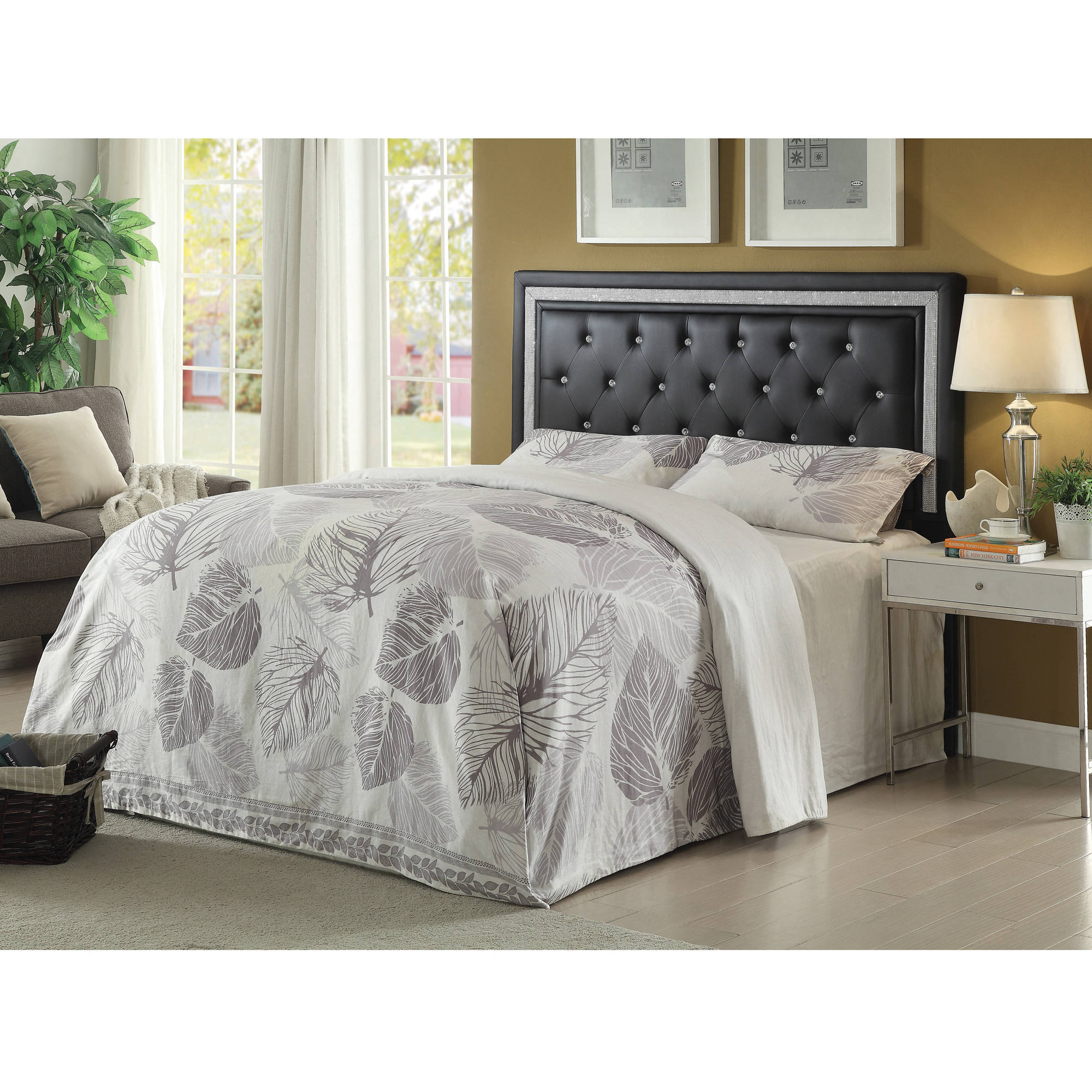 Coaster Andenne Contemporary Headboard, Multiple Sizes and Colors