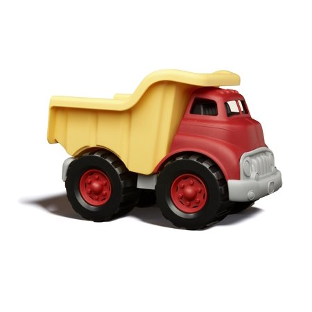 Green Toys Dump Truck, Yellow and Red