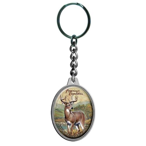 American Expedition Keychain Whitetail Deer