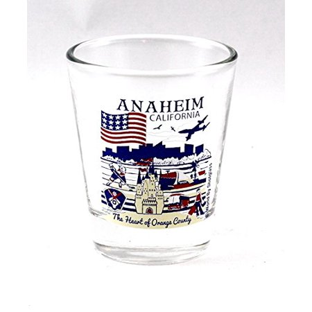 Anaheim California Great American Cities Collection Shot Glass](Anaheim City)