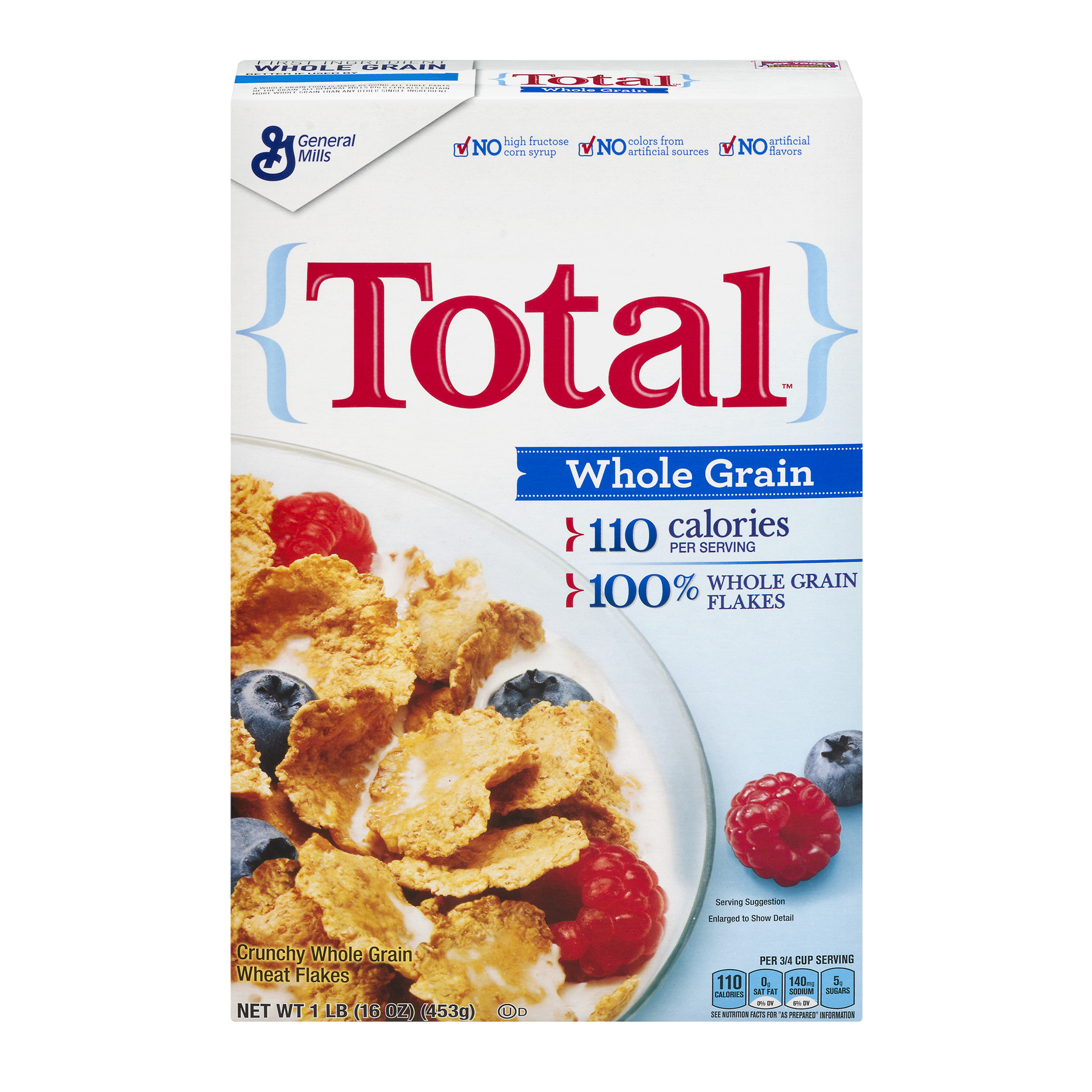 Total Cereal Whole Grain 16 oz Box