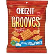 Keebler, KEB93646, Cheez-It Grooves Crispy Cracker Chips, 6 / Carton