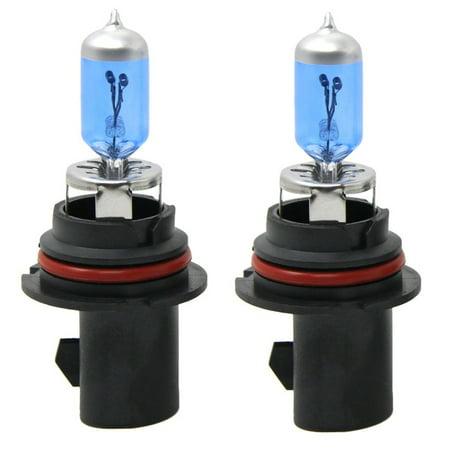 2x 9004/HB1 Halogen 65/45W 12V Dual-Beam Low/High Headlight Bulbs Bright White