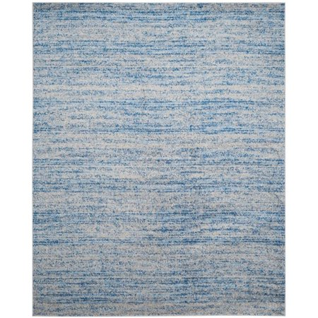"Safavieh Adirondack 2'6"" X 6' Power Loomed Rug in Blue and Silver - image 3 of 3"
