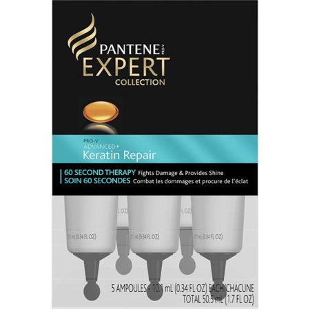 Pantene Pro-V Expert Collection Advanced+ Keratin Repair, 60-Second Therapy, 1.7 fl oz