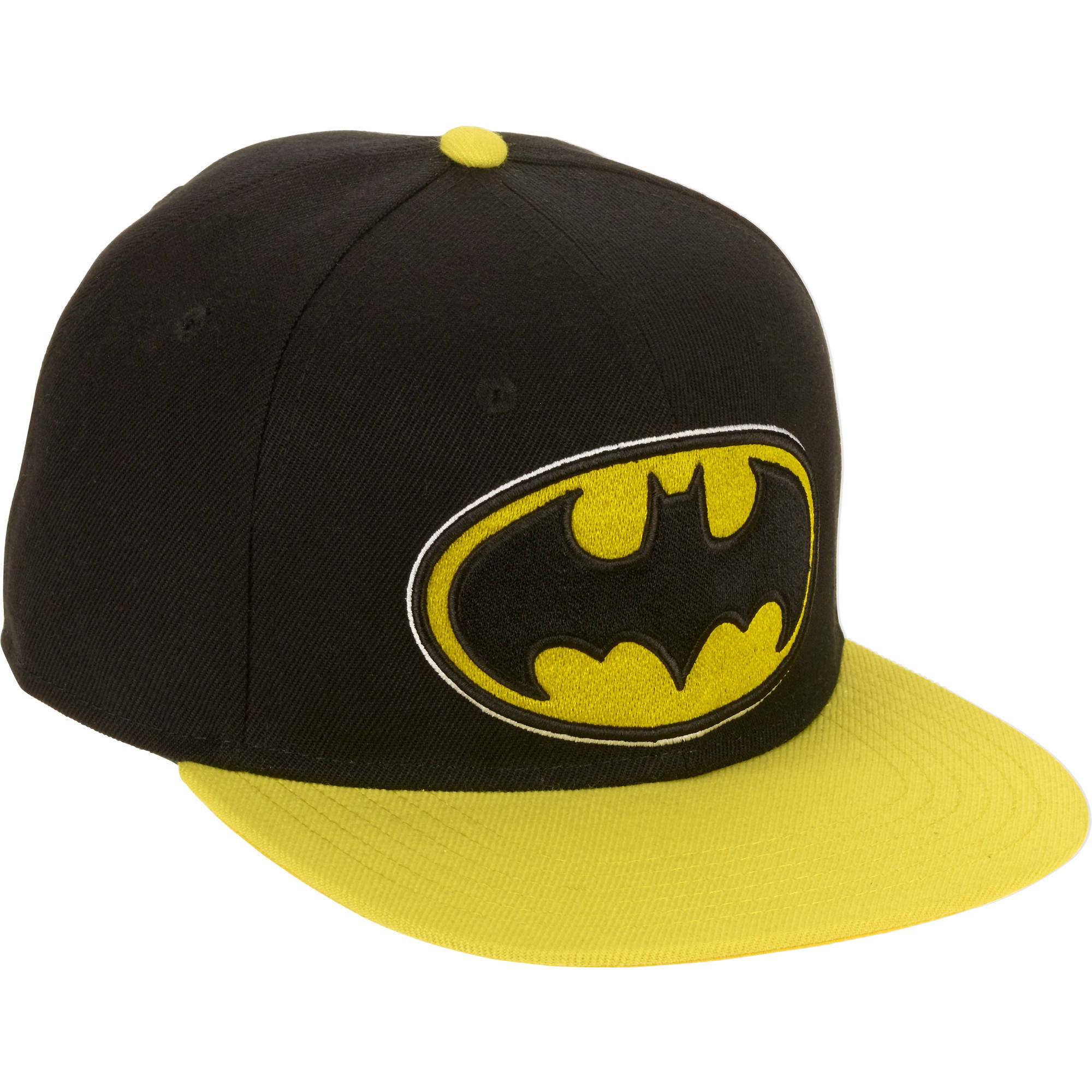 Men's Batman Snapback Flat Bill Hat