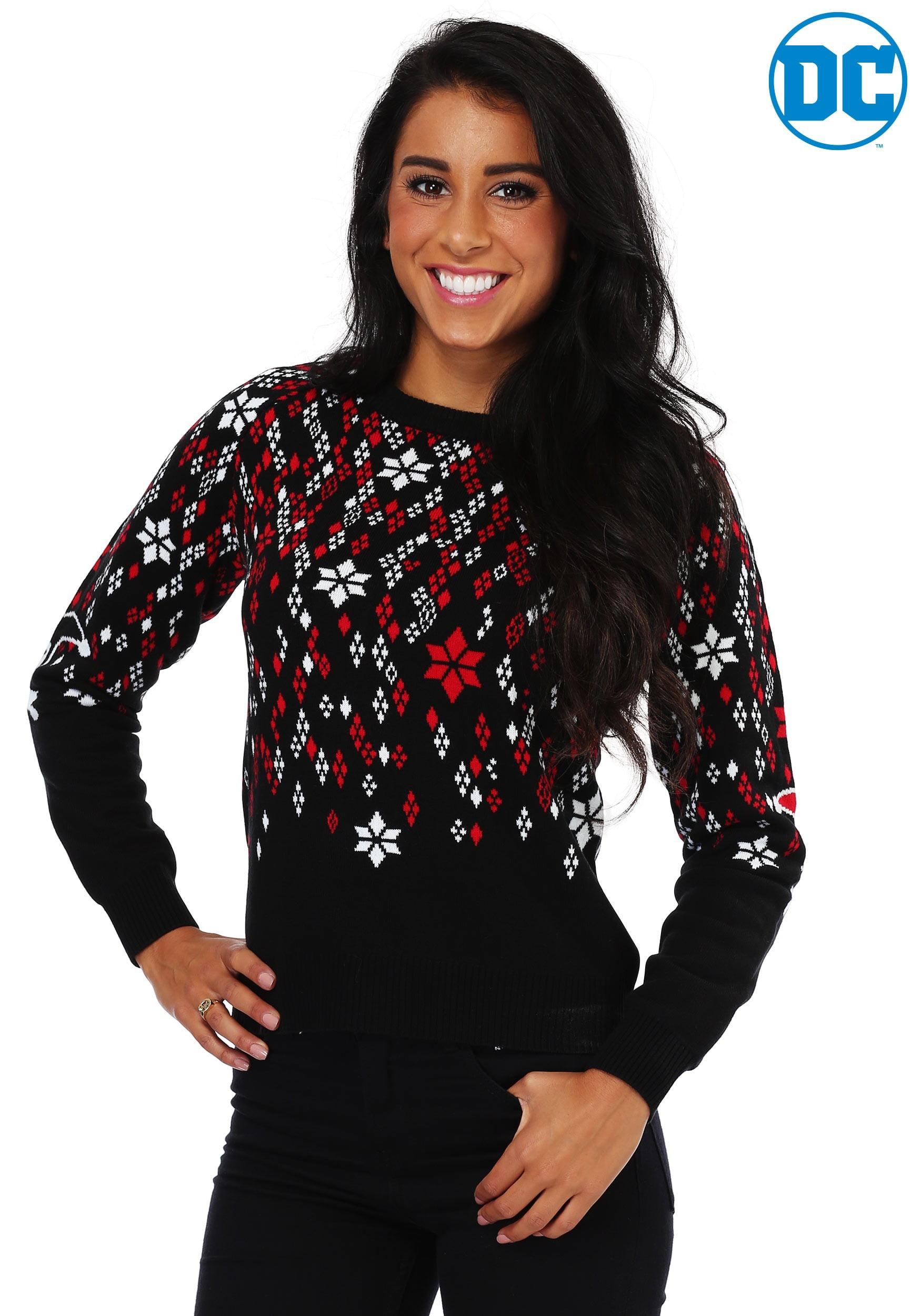 Harley Quinn Diamond Womens Ugly Christmas Sweater