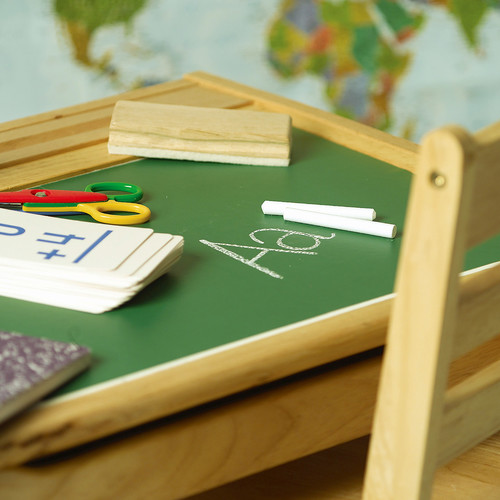 "Wallies Peel & Stick Green Chalkboard, 2 sheets, 9"" x 12"""