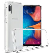 CoverON Samsung Galaxy A10E Case, ClearGuard Series Clear Hard Phone Cover
