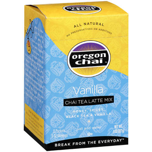 Oregon Chai Chai Tea Latte Mix Vanilla, 8 oz
