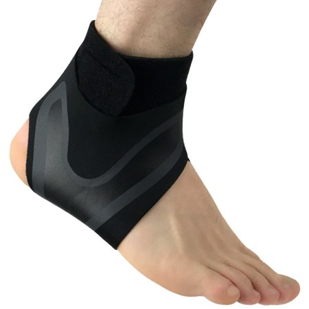 Ankle Injury Treatment (1Pc Adjustable Ankle Support Brace Foot Sprains Injury Wrap Guard Protector)