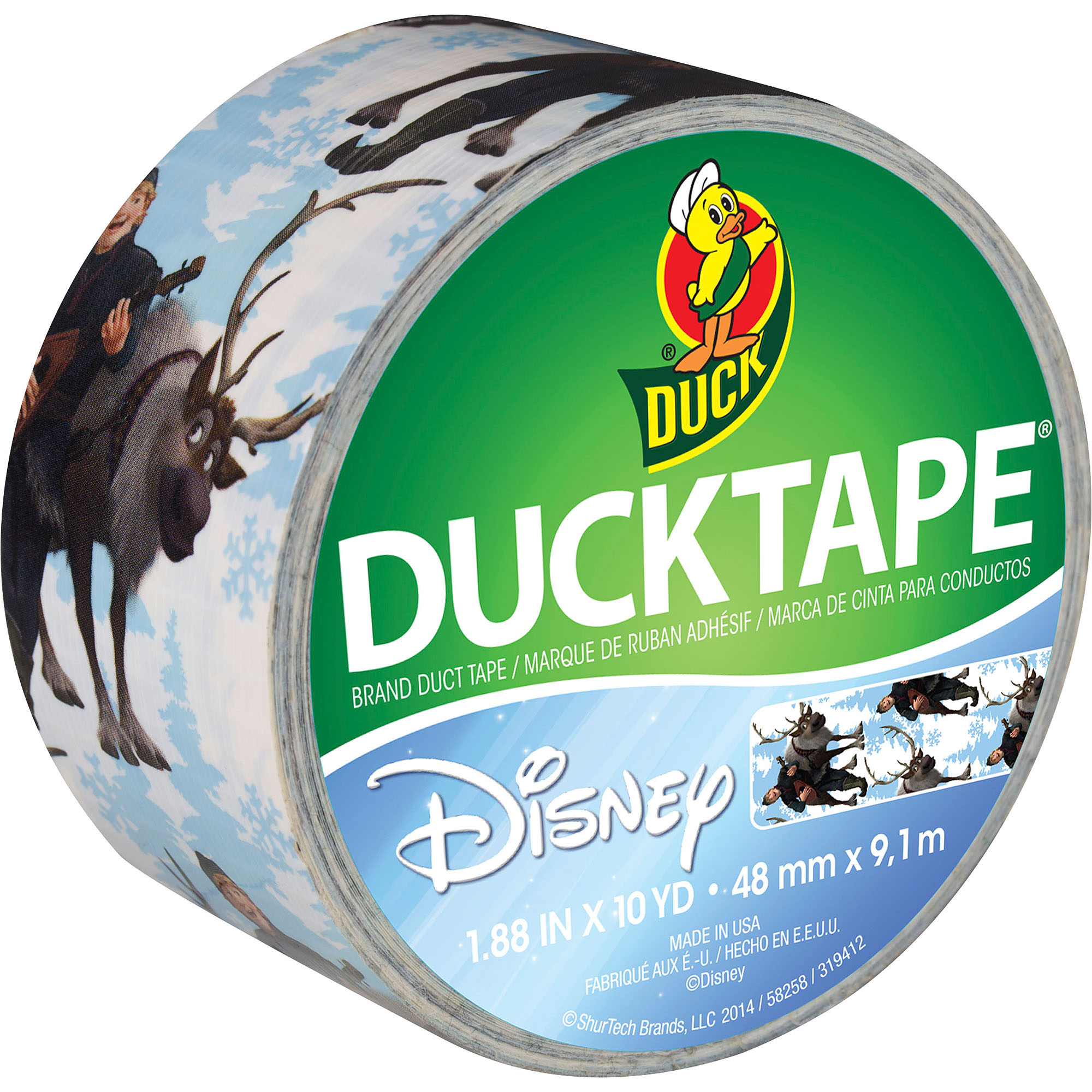Duck Brand Disney Frozen Duct Tape, Kristoff and Sven