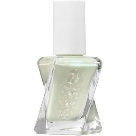 Geo Green (essie Gel Couture Nail Polish (Greens), Zip Me Up, 0.46 oz)