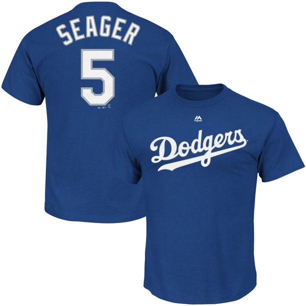 Corey Seager Los Angeles Dodgers Majestic Official Name ...