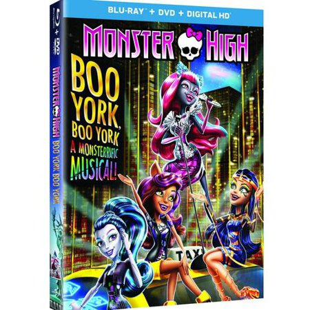 Monster High  Boo York  Boo York  Blu Ray   Dvd   Digital Hd   With Instawatch