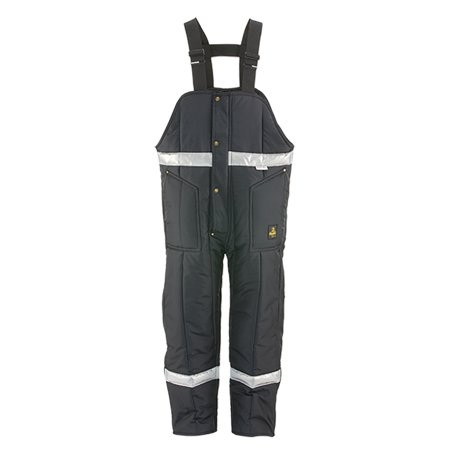 RefrigiWear Iron-Tuff Enhanced Visibility Reflective Insulated High Bib Overalls