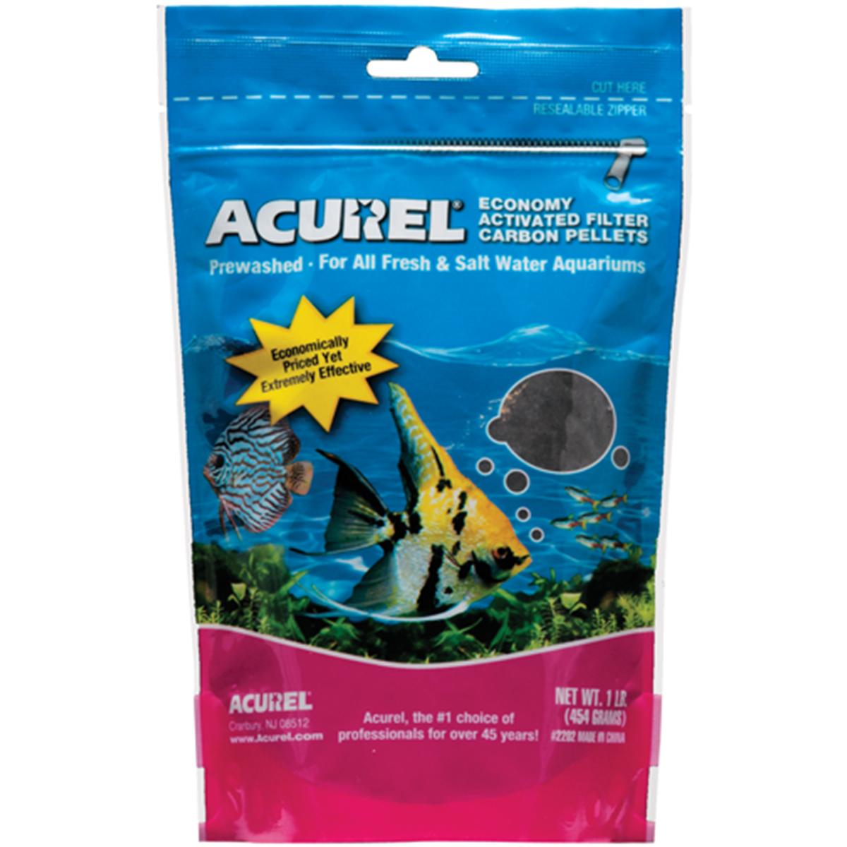 Acurel Economy Activated Filter Carbon Pellets For Fish Aquarium
