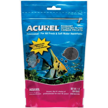 Acurel Economy Activated Filter Carbon Pellets 1lb-