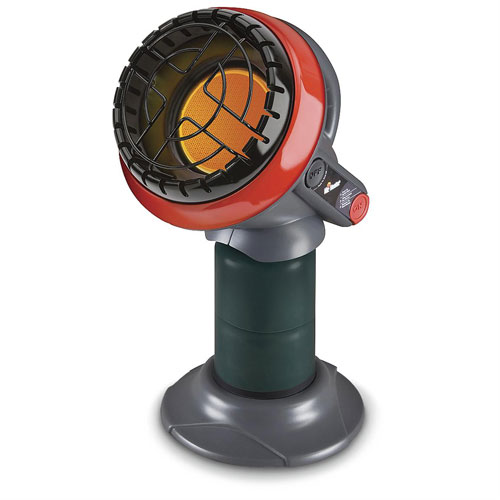 """Mr. Heater Compact """"Little Buddy""""  Radiant Propane Heater with Portable Buddy Carry"""