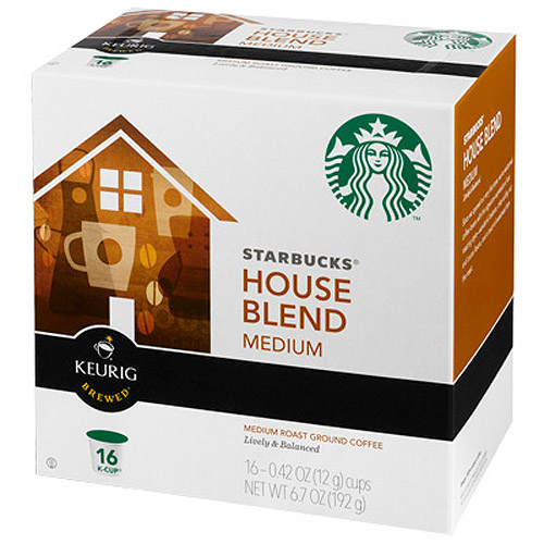 Starbucks K-Cup House Blend Coffee, 16ct