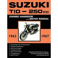 Suzuki T10 1963-1967 Factory Workshop Manual