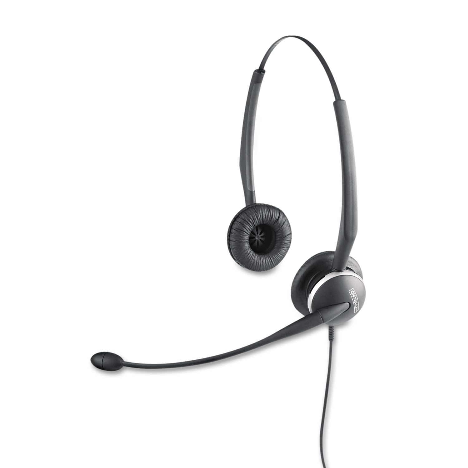 Jabra GN2125 Binaural Over-the-Head Telephone Headset w Noise Canceling Mic by GN Netcom, Inc.